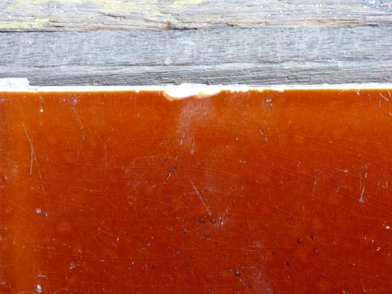 Rotbraun glasiert Fliesen 15 1 x 15 1 cm