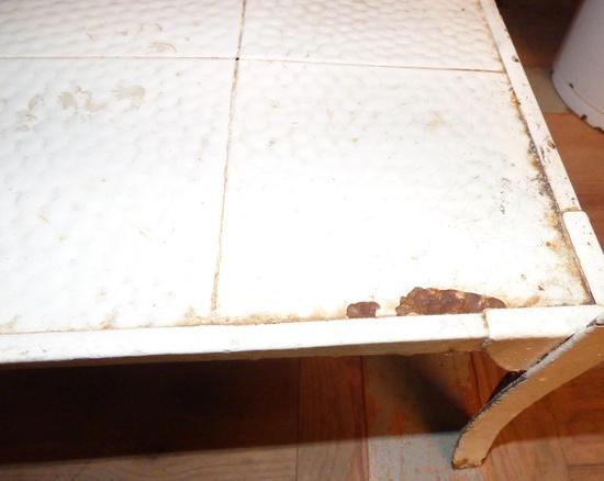 shabby chic gartentisch historische bauelemente jetzt online bestellen. Black Bedroom Furniture Sets. Home Design Ideas