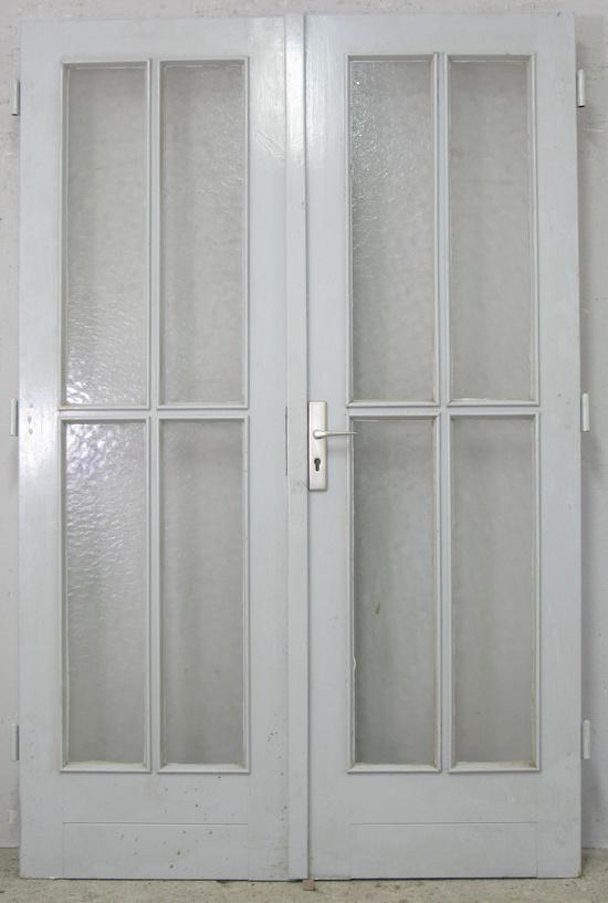 Zimmertüren online  Zimmertür/Zwischentür Doppelflügel 50er - 60er Jahre | Historische ...