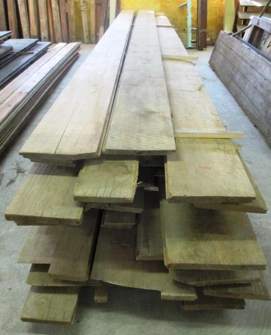 historische l rchenholz dielen in einmaliger l nge bis 6 90 m historische bauelemente. Black Bedroom Furniture Sets. Home Design Ideas