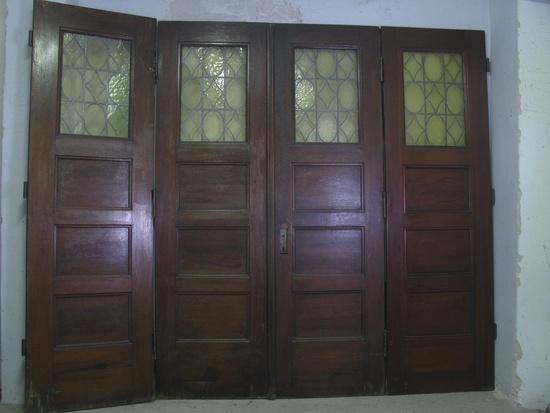 4 fl gelige zimmert r raumteiler windfang 20er 30er jahre historische bauelemente. Black Bedroom Furniture Sets. Home Design Ideas
