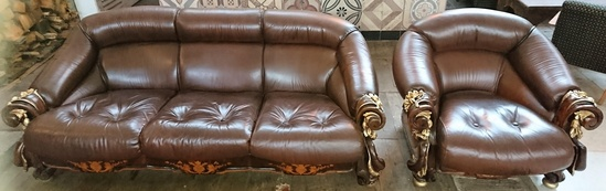 echtleder berlin kudamm sofa sessel ca 1930 historische bauelemente jetzt online bestellen. Black Bedroom Furniture Sets. Home Design Ideas