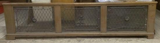 heizk rperverkleidung jugendstil 4 50 m historische bauelemente jetzt online bestellen. Black Bedroom Furniture Sets. Home Design Ideas