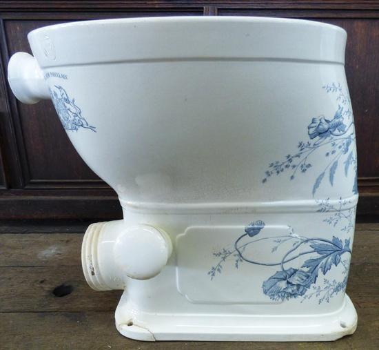 Englische Blumen Toilette Historische Bauelemente Jetzt