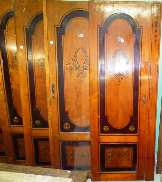schrankt ren jugendstil aus dem cumberland hotel berlin historische bauelemente jetzt. Black Bedroom Furniture Sets. Home Design Ideas