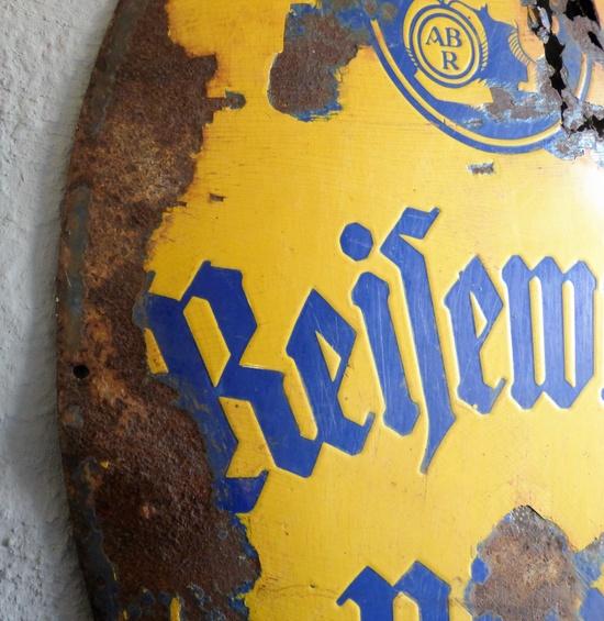 blech schilder reifewitzer bier historische bauelemente jetzt online bestellen. Black Bedroom Furniture Sets. Home Design Ideas