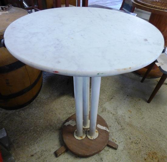 Gartentisch mit marmor platte historische bauelemente for Gartentisch marmor