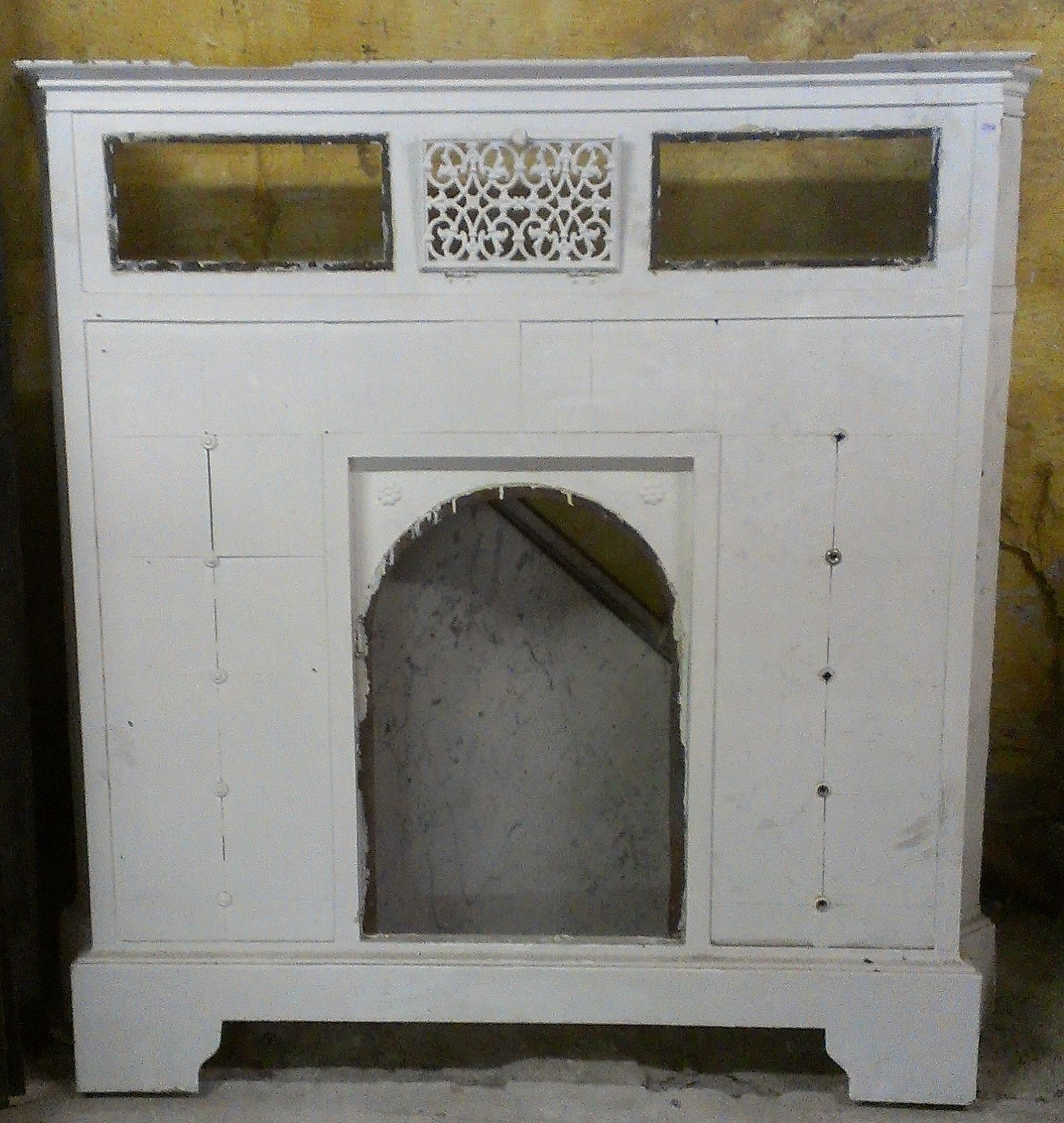 heizk rperverkleidung jugendstil 128 5 x 130 x 18 historische bauelemente jetzt online. Black Bedroom Furniture Sets. Home Design Ideas