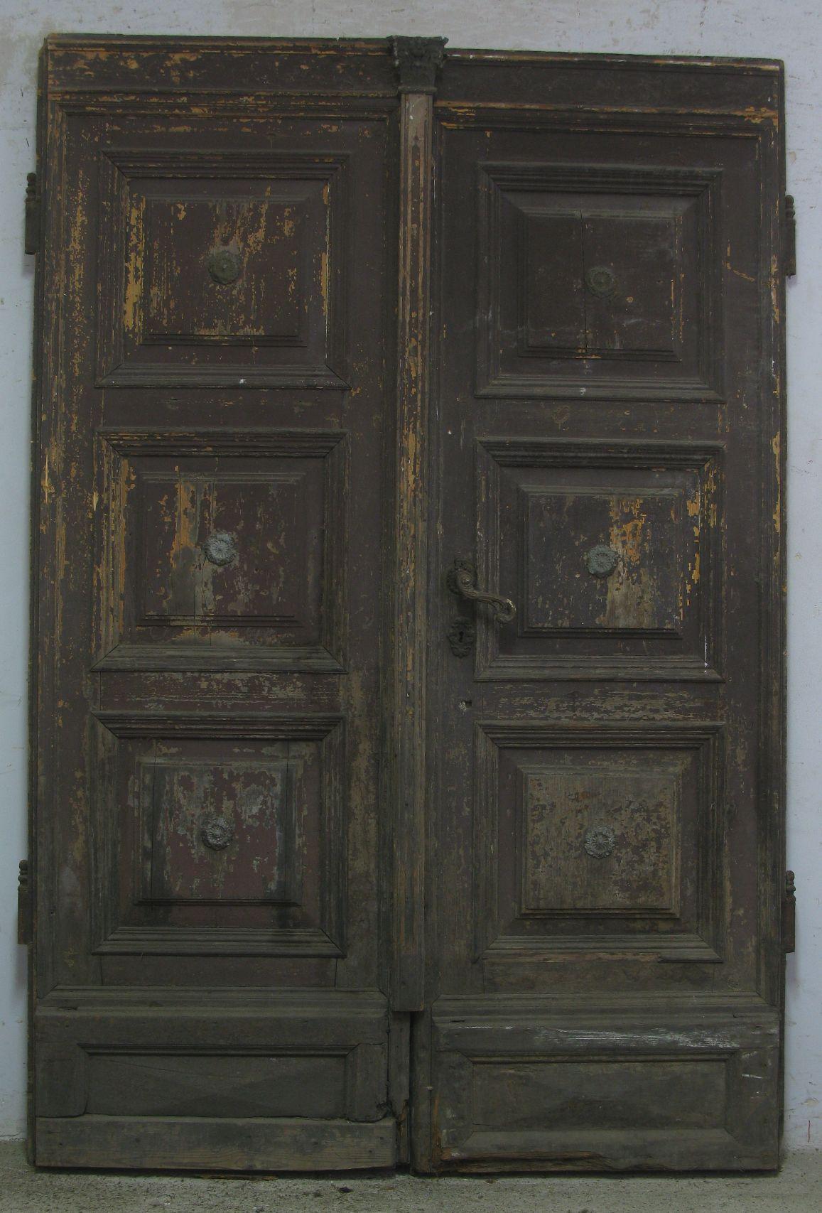 haust r barock doppelfl gel historische bauelemente jetzt online bestellen. Black Bedroom Furniture Sets. Home Design Ideas