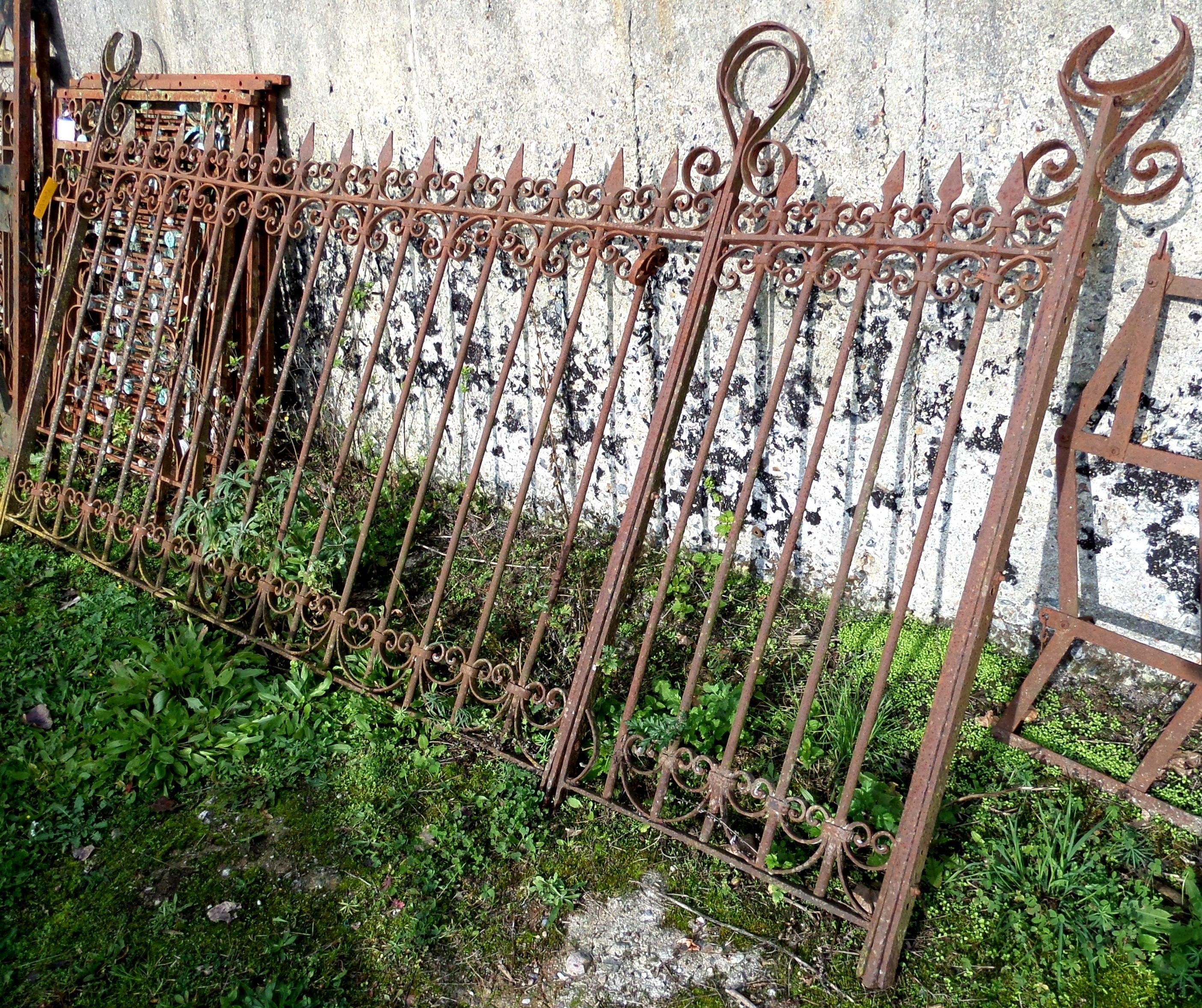 Jugendstil zaun mit orientalischer note historische - Garten jugendstil ...