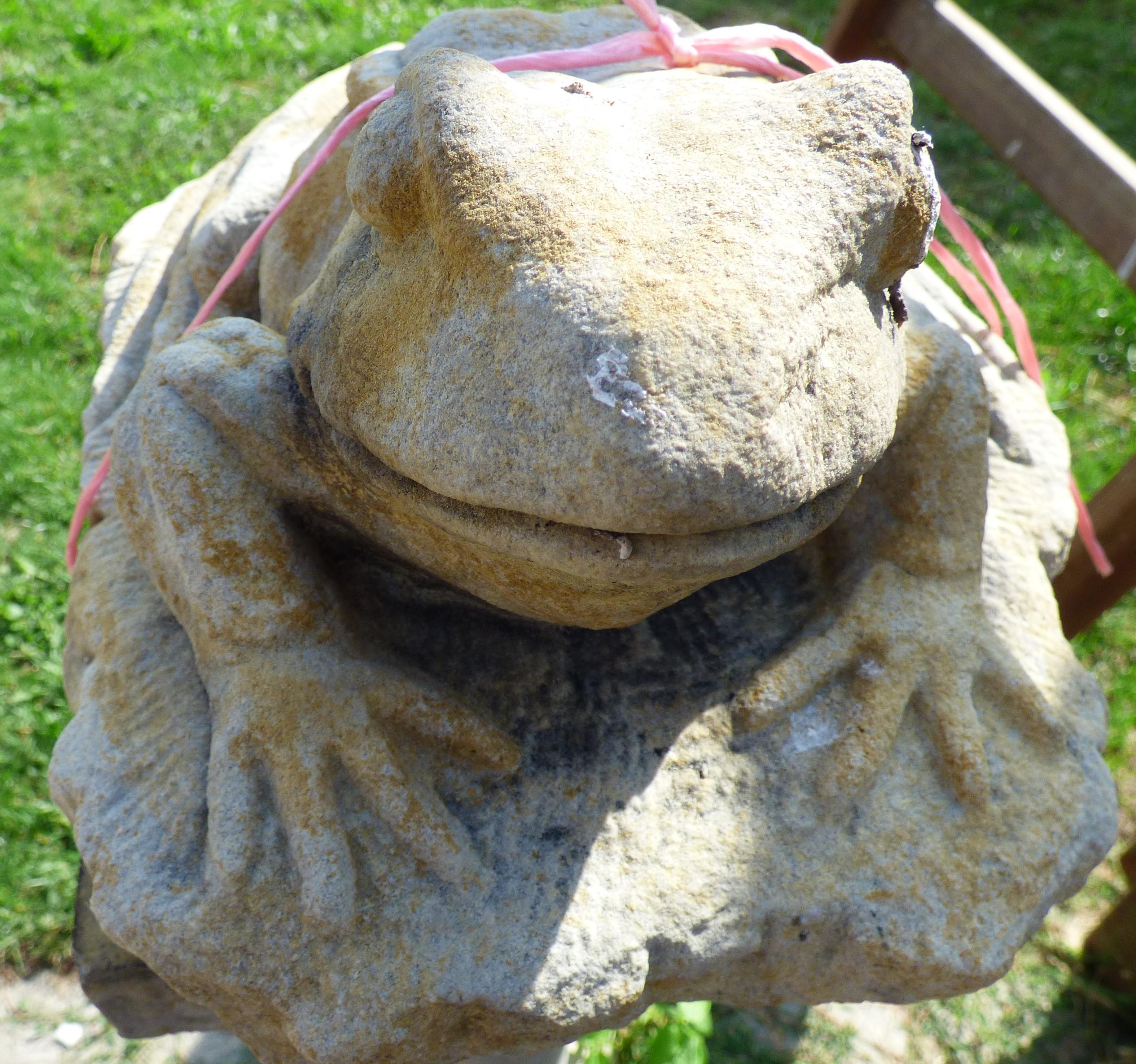 Gartendeko frosch historische bauelemente jetzt for Gartendeko bestellen