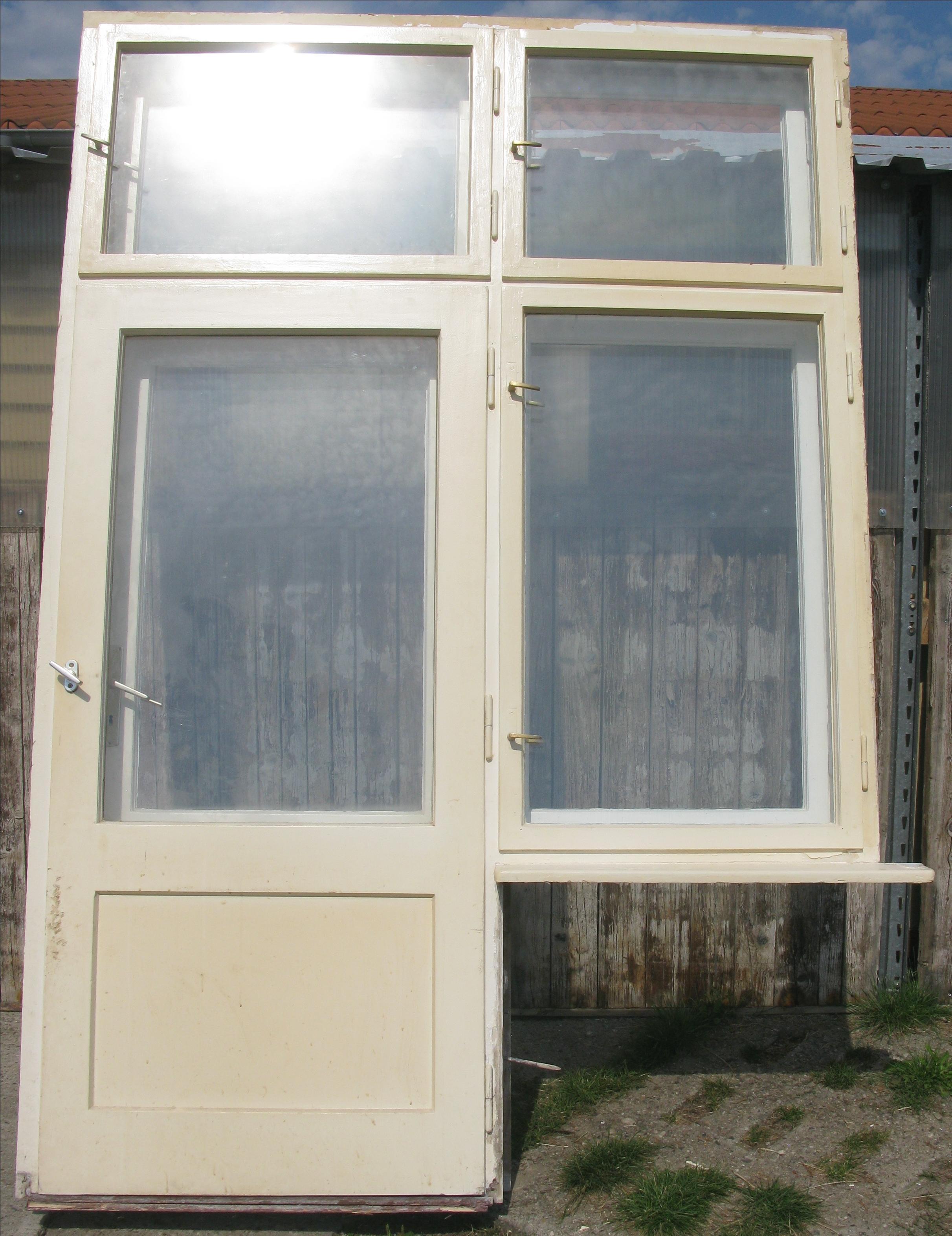 Doppelkastenfenster mit terrassent r 20er 30er jahre for Fenster 30er jahre
