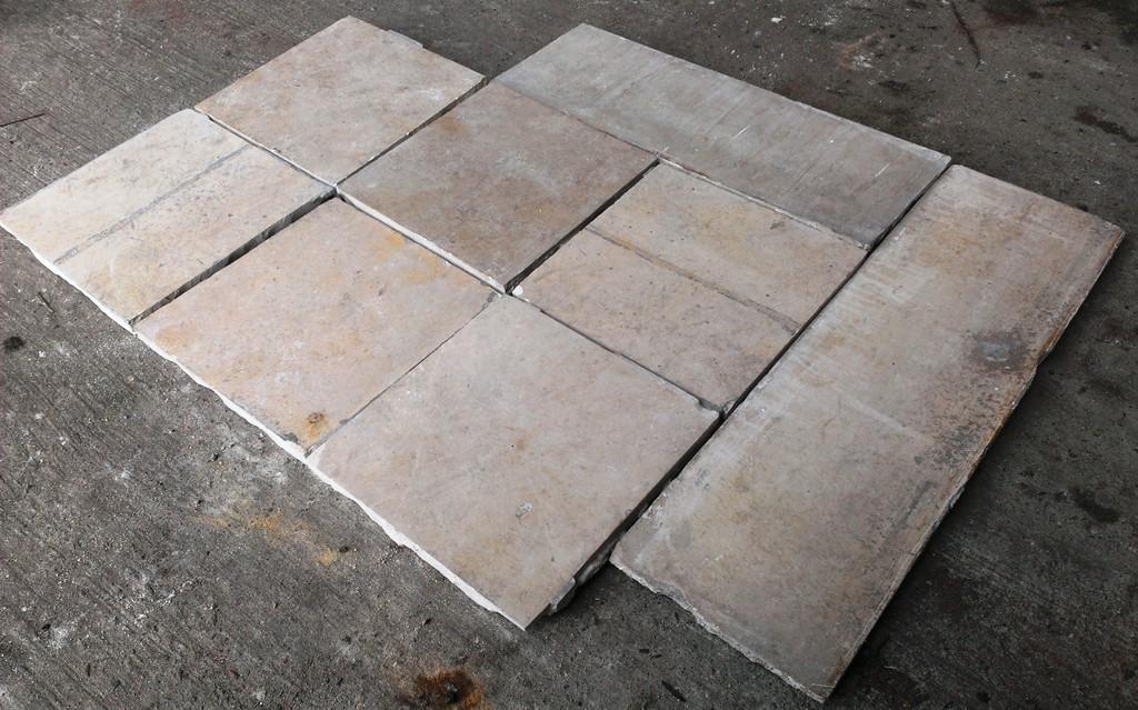 solnhofer bodenplatten kleinformat 20 cm x 20 cm. Black Bedroom Furniture Sets. Home Design Ideas