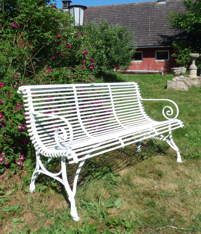 Luxus Gartenbank Gusseisen Nostalgisch Design